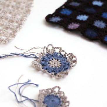 「すみれなバッグと編み図展」のお知らせ♪